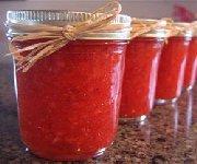 Confiture de fraises pour le congélateur
