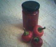Confiture de piments rouges 1