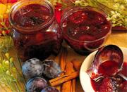 Confiture de prunes aux trois épices