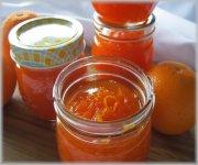 Confiture d'orange et de carottes à la fleur d'oranger