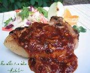 Côtelettes de porc grillées