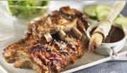 Côtes de flanc de porc BBQ