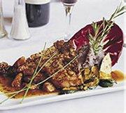 Côtes de veau, sauce aux champignons porcini