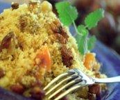 Couscous aux pacanes et à l'orange