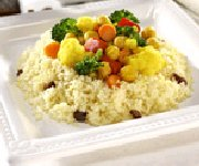 Couscous de légumes et pois chiches