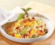 Couscous tropical aux fruits