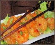 Crevettes bang-Bang (Brasserie Fleurimont)