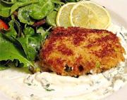 Croquette de saumon diabolique