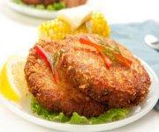 Croquettes de saumon, mayonnaise aux câpres