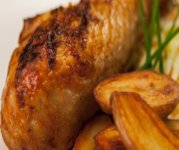 Cuisse de dinde grillée aux épices Cajun