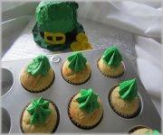 Cupcake irlandais au Baileys