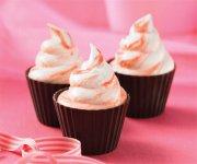 Cupcakes à la crème glacée Red Velvet