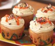 Cupcakes à la noix de coco et citron vert