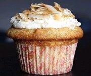 Cupcakes au Chocolat Blanc et Noix de Macadam