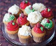 Cupcakes au citron et à la vanille, glaçage au chocolat blanc