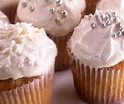 Cupcakes dorés