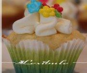 Cupcakes dorés de Pâques