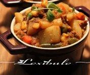 Curry de porc et de pommes de terre