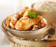Curry de poulet à l'antillaise