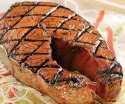 Darnes de saumon grillées teriyaki