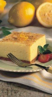 Dessert léger au citron