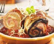Escalopes de porc farcies à l'italienne