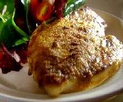 Escalopes de poulet simplissime au parmesan