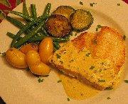 Filet de mérou, sauce au poivre citronné