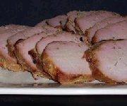 Filet de porc grillé sauce arachide et gingembre