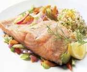 Filet de saumon à l'aneth
