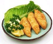 Filets de poisson croustillants