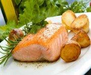 Filets de saumon au cari