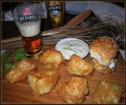 Fish & Chips de morue à la Rickard's Blonde