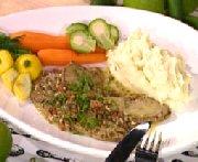 Foie de veau au citron vert, câpres et tabasco