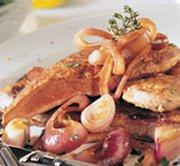 Foie de Veau aux oignons caramélisés