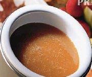 Fondue caramel et fruits de saison