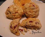 Biscuits aux canneberges et aux pépites de caramel