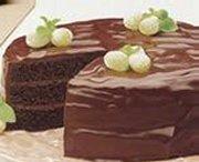 Gâteau au chocolat célébration