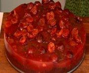 Gâteau au chocolat et aux cerises de Janella