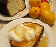Gâteau au citron Meyer