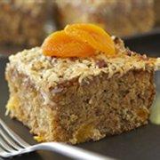 Gâteau au gruau et aux abricots