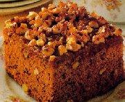 Gâteau au miel et aux noix