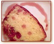 Gâteau aux canneberges 1