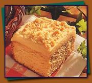 Gâteau au beurre d'arachide et aux épices