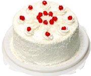 Gâteau blanc à la vanille