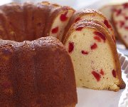 Gâteau bundt aux cerises