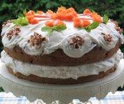 Gâteau aux carottes et aux pommes
