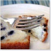Gâteau éponge aux bleuets