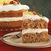 Gâteau étagé aux carottes pour les fêtes (Five Roses)