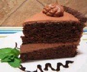 Gâteau au chocolat et Miracle Whip